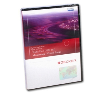 Becker CD für Traffic Pro DTM V10.0 Central Europe