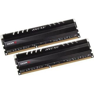 16GB Avexir Core Series blaue LED DDR3-2400 DIMM CL10 Dual Kit