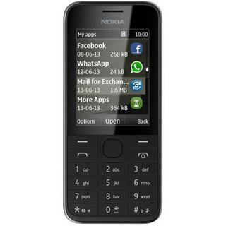 Nokia 208 256 MB schwarz