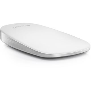 Logitech Ultrathin Touch Mouse T631 for Mac USB weiß/silber (kabellos)