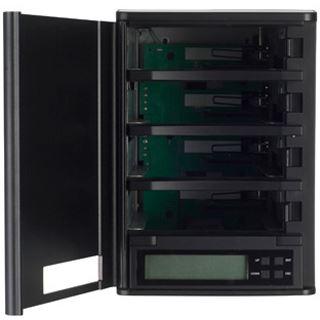"Silverstone TowerStor SST-TS432U 3.5"" (8,89cm) eSATA/USB 3.0 schwarz"