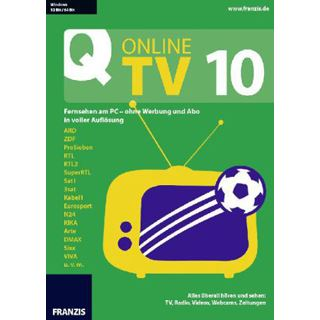 Franzis Online TV 10 Deutsch Videosoftware Vollversion PC (CD)