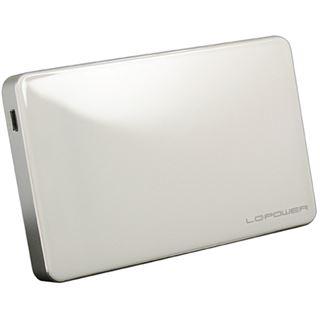 """LC-Power LC-25U3W Elektra 2.5"""" (6,35cm) USB 3.0 weiss"""