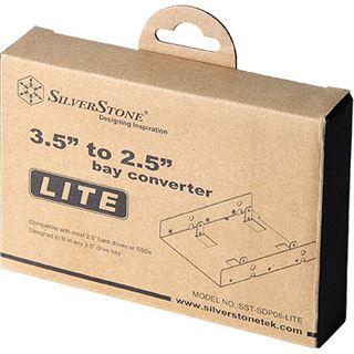 """Silverstone SDP08 3,5"""" Einbaurahmen für 2x 2.5"""" Festplatten (SST-SDP08-Lite)"""