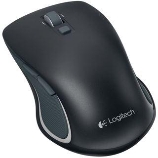 Logitech M560 2.4 GHz schwarz (kabellos)