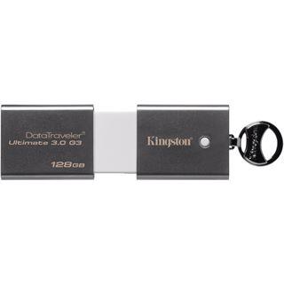 128 GB Kingston DataTraveler Ultimate G3 silber USB 3.0