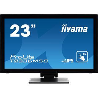 """23"""" (58,42cm) iiyama ProLite T2336MSC Touch schwarz 1920x1080 1xHDMI 1.3/VGA/DVI"""