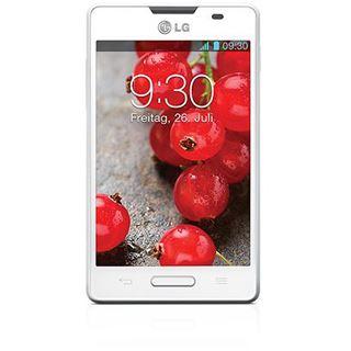 LG Electronics Optimus L4 E440 4 GB weiß