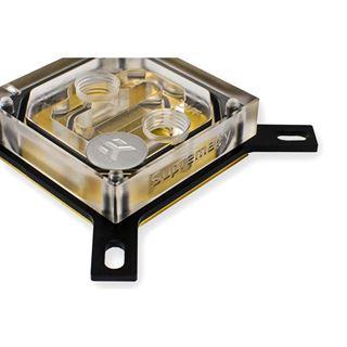 EK Water Blocks EK-Supremacy Clean CSQ Acryl/Kupfer (vergoldet) CPU Kühler