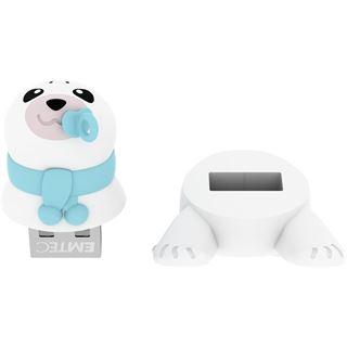 8 GB EMTEC M334 Animalitos Baby Seal Figur USB 2.0