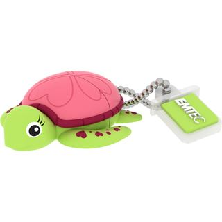 8 GB EMTEC M335 Animalitos Lady Turtle Figur USB 2.0