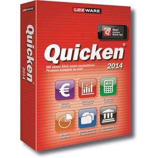 Lexware Quicken 2014 inkl. RFID-Kartenleser 32/64 Bit Deutsch Office Vollversion PC (CD)