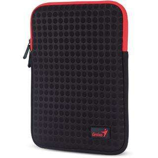 Genius NB Schutzhülle GS-1021 Tablet Sleeve rot/schwarz