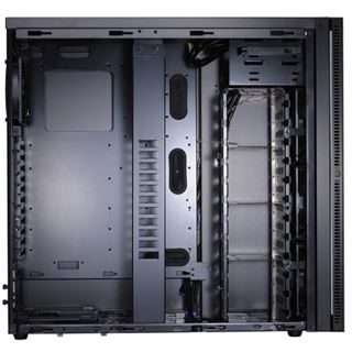 Lian Li PC-A76X Big-Tower, schwarz/schwarz - gedämmt