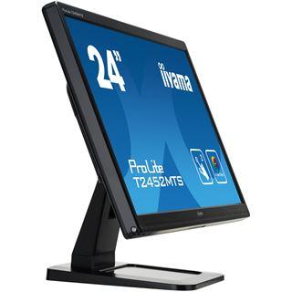 "23,6"" (59,94cm) iiyama ProLite T2452MTS-B3 Touch schwarz 1920x1080 2xHDMI 1.3/1xVGA/1xDVI"
