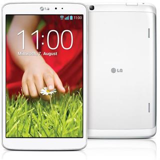 "8.3"" (21,08cm) LG Electronics G Pad 8.3 WiFi/Bluetooth 16GB weiss"
