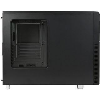 Nanoxia Deep Silence 2 gedämmt mit Sichtfenster Midi Tower ohne Netzteil schwarz