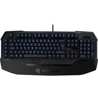 Roccat Ryos MK Glow Gaming Keyboard CHERRY MX Black USB Deutsch schwarz (kabelgebunden)