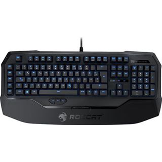 Roccat Ryos MK Pro Gaming Keyboard MX Black CHERRY MX Black USB Deutsch schwarz (kabelgebunden)