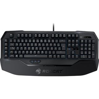Roccat Ryos MK Gaming Keyboard MX Black CHERRY MX Black USB Deutsch schwarz (kabelgebunden)