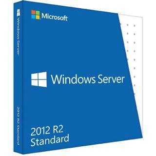 Microsoft Windows Server 2012 R2 Standard 64 Bit Englisch OEM/SB 2 CPUs
