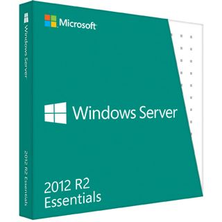 Microsoft Windows Server 2012 R2 Essentials 64 Bit Englisch OEM/SB 2 CPUs