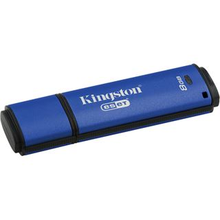 8 GB Kingston DataTraveler Vault Privacy + ESET AntiVirus blau USB 3.0