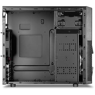 Sharkoon MA-W1000 USB 3.0 mit Sichtfenster Mini Tower ohne Netzteil schwarz