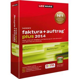 Lexware Faktura + Auftrag Plus 2014 Deutsch Office Vollversion PC (CD)