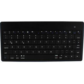 InLine Bluetooth Mini-Tastatur Bluetooth Deutsch schwarz (kabellos)
