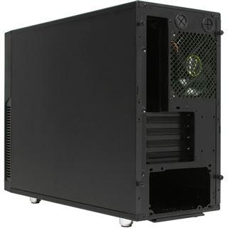 Nanoxia Deep Silence 4 gedämmt Mini Tower ohne Netzteil schwarz