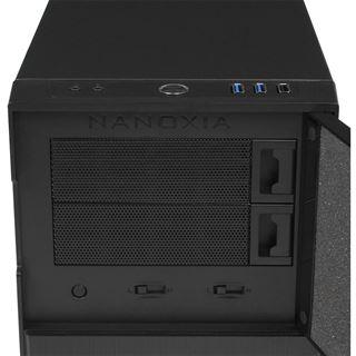 Nanoxia Deep Silence 4 gedämmt Mini Tower ohne Netzteil anthrazit