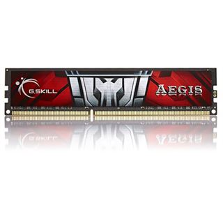 4GB G.Skill Aegis DDR3-1600 DIMM CL11 Single