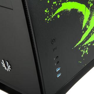 BitFenix Prodigy Mini-ITX Gehäuse, NVIDIA DE - schwarz