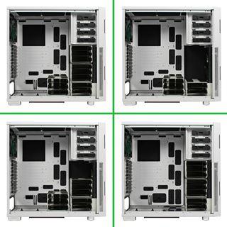 Nanoxia Deep Silence 5 gedämmt Big Tower ohne Netzteil weiss