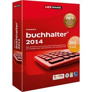 Lexware Buchhalter 2014 32/64 Bit Deutsch Buchhaltungssoftware Vollversion PC (CD)