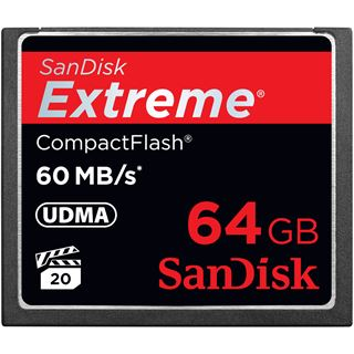 64 GB SanDisk Extreme Compact Flash TypI 800x Retail