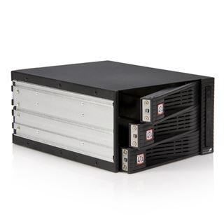 "Startech 5,25"" Wechselrahmen für 3x 3.5"" Festplatten (HSB320SATBK)"
