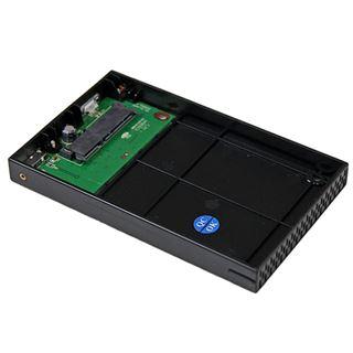"""Startech S2510BMU33 2.5"""" (6,35cm) USB 3.0 schwarz"""