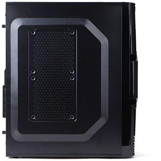 Zalman ZM-T3 Mini Tower ohne Netzteil schwarz