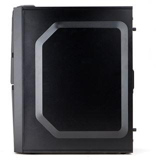 Zalman ZM-T4 Mini Tower ohne Netzteil schwarz