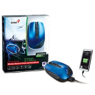 Genius Energy Mouse USB blau (kabellos)