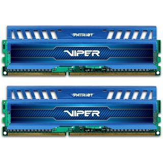 16GB Patriot Viper 3 Series - Blue Sapphire DDR3-1600 DIMM CL10 Dual Kit