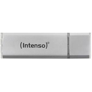 128 GB Intenso Ultra Line silber microUSB 3.0