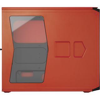 Corsair Graphite 230T mit Sichtfenster Midi Tower ohne Netzteil orange