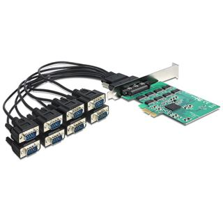 Delock 89336 1 Port Multi-lane PCIe x1 Low Profile retail