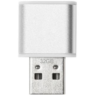 32 GB Verbatim Store `n` Go Mini Metal silber/orange USB 3.0
