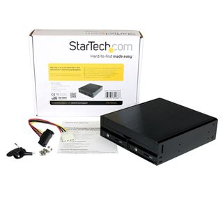 """Startech Mini SAS SFF-8087 2.5"""" (6,35cm) SAS 6 GB/s/SATA 6 GB/s schwarz"""
