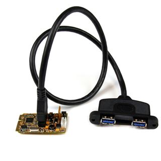 Startech MPEXUSB3S22B 2 Port PCIe Mini Card retail