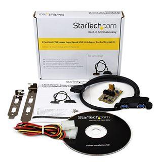 Startech MPEXUSB3S22B 2 Port PCIe Mini Card retail